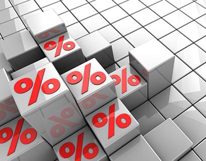 Средняя максимальная процентная ставка повкладам снизилась до8,82%