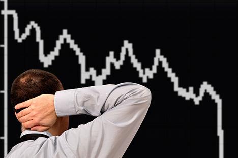 Индекс РТС упал ниже 1 000 пунктов впервый раз сноября прошлого года